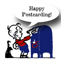 Happy Postcarding !