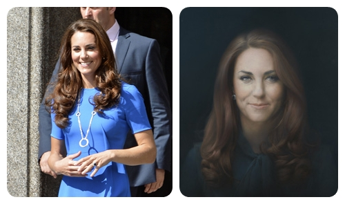 The Duchess of Cambridge At The National Gallery