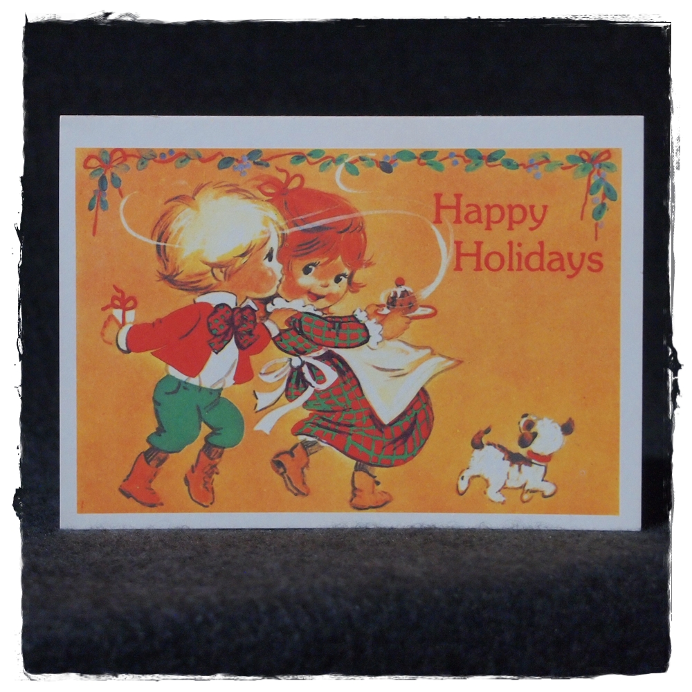 Vintage Happy Holiday Postcards Max Amp Co Post