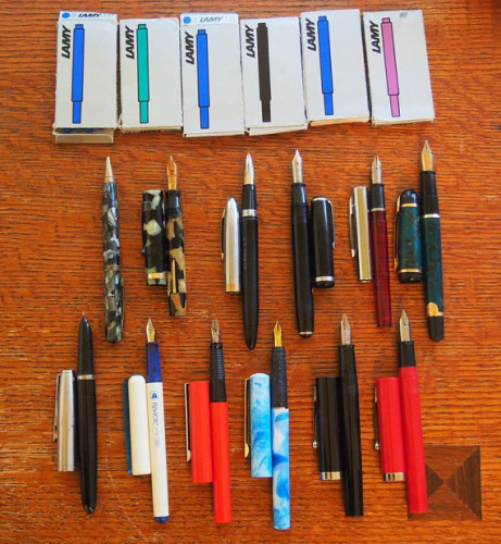 fountain pen collection for sale