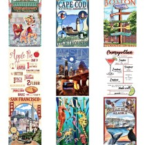 New Lantern Press postcards for Aug 2016